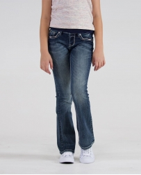 Grace in LA® Girls' Paisley Bootcut Jeans