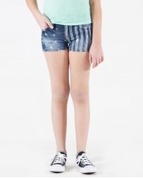 Grace in LA® Girls' Flag Shorts