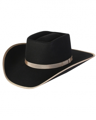 Rodeo King® Brick Jr Black Hat