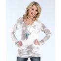 Vocal® Ladies' Raglan Cloudy Day Top