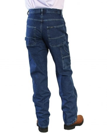 Key® Men's Relax Fit Denim Dungaree - Big
