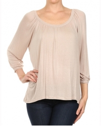 Mystree® Ladies' Raglan Sheer Top