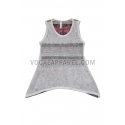 Vocal® Girls' Striped Bling Tank Top