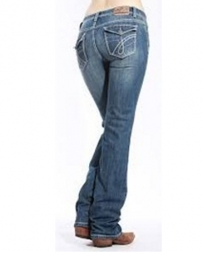 Cowgirl Up® Ladies' Outwest Midrise Boot Cut Jeans