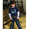 Cinch® Boys' Long Sleeve Crew Neck Tee
