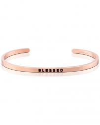 MantraBand® Ladies' Blessed Rose Gold Band