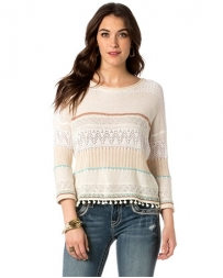Miss Me® Ladies' Blissful BoHo Sweater