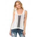 Miss Me® Ladies' Mixed Mania Tank