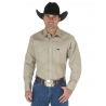 Wrangler® Men's Western Work Shirts - Solids - Regular