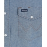 Wrangler® Men's Western Work Shirts - Solids - Big and Tall