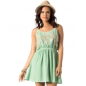 Miss Me® Ladies' Embroidered Cami Dress