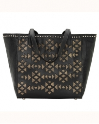 American West® Ladies' Azteca Tote Black