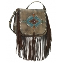 American West® Ladies' Pueblo Moon Crossbody Bag