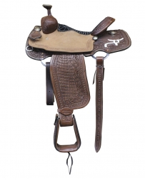 Rope Smart® Roper 1/2 Breed Saddle