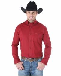 Wrangler® 20X® Men's Long Sleeve Competition Solid Shirt