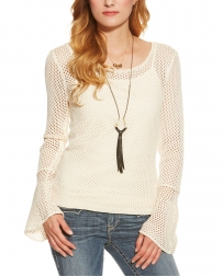 Ariat® Ladies' Lillian Crochet Sweater