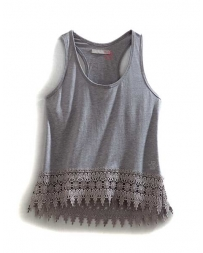 Tin Haul® Ladies' Crocheted Hem Tank
