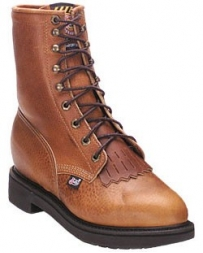 "Justin® Original Workboots Men's 8"" Lacer - Non Steel-Toe"
