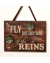 "Big Sky Carvers® ""To Fly Just Take Hold"" Sign"