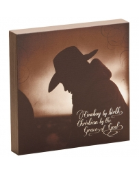 "Big Sky Carvers® ""Christian Cowboy"" Wall Art By David Stoecklein"
