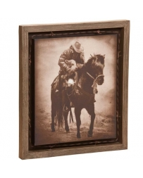"Big Sky Carvers® ""Winter Save"" Barnwood Shadow Box Wall Art By David Stoecklein"
