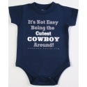 Moss Brothers Inc.® Boys' Cutest Cowboy Around Onesie - Infant