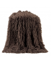 HiEnd Accents® Mongilian Faux Fur Throw