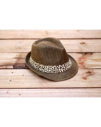 Ali Dee® Ladies' Sassy Cheetah Fedora