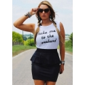 Ali Dee® Ladies' Take Me To The Weekend Tank