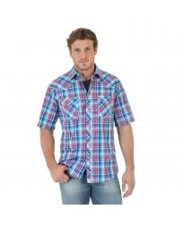 Wrangler® 20X® Men's Short Sleeve Plaid - Tall