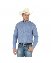 Wrangler® 20X® Men's Long Sleeve Poplin Shirt - Tall