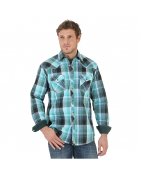 Wrangler® 20X® Men's Long Sleeve Plaid Shirt