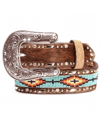 Ariat® Girls' Aztec Beaded Belt