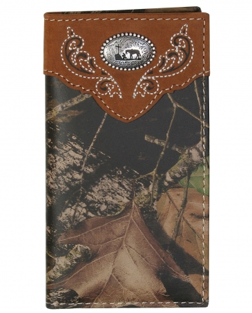 Boys' Cowboy Prayer Camo Rodeo Wallet
