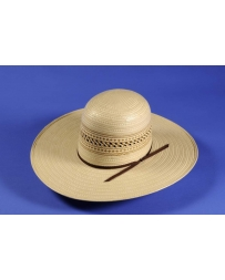 Atwood Hat Co® Men's Dalhart Open Crown Straw Hat