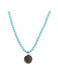 Gypsy Soule® Ladies' Turquoise Beaded Necklace