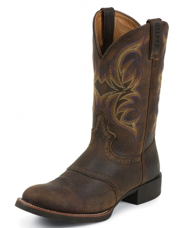Justin 174 Men S Stampede Cattleman Boots Fort Brands