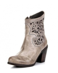 Corral Boots® Ladies' Laser Inlay Ankle Boots