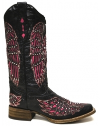 Corral Boots® Ladies' Wing & Cross Square Toe Boots
