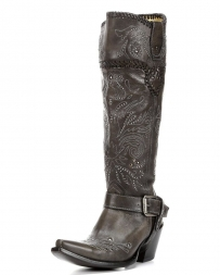 Corral Boots® Ladies' Whip Stitch & Studs Boots