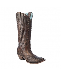 Corral Boots® Ladies' Studded & Woven Details Boots