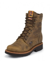 Justin® Original Workboots Men's Rugged Tab Gaucho J-MAX® Lace Up Work Boots