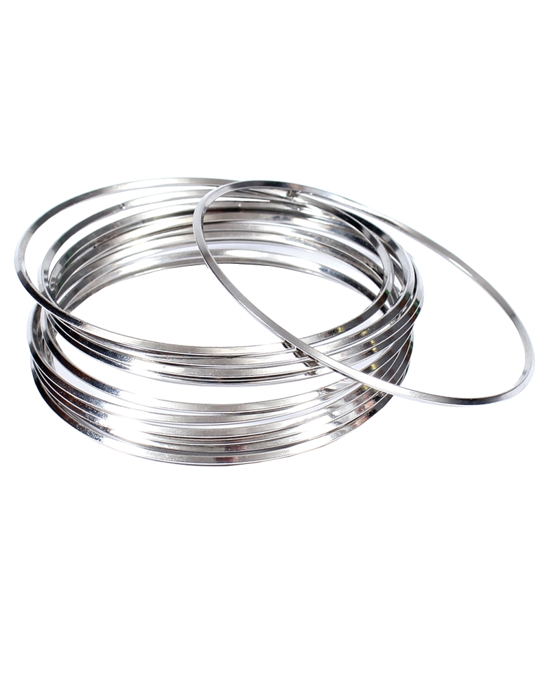 images silver bangle detailed bangles set ba view