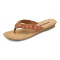Minnetonka® Ladies' Beaded Flip Flops