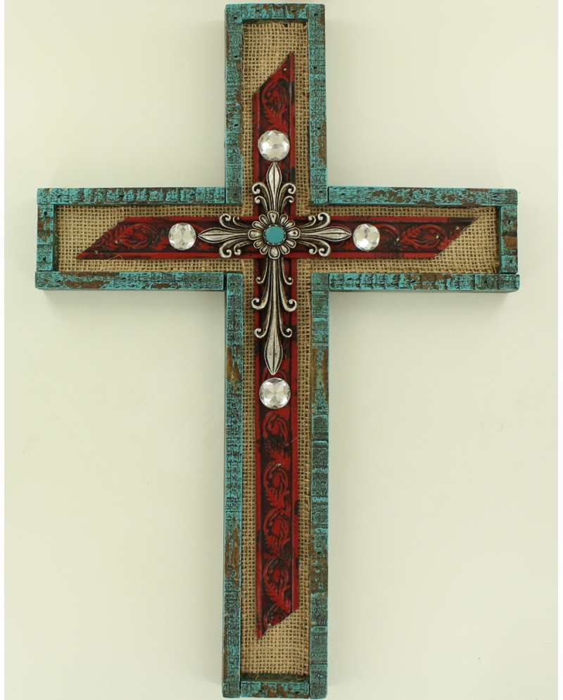 M f western products home decor wall cross fort brands Home decor wall crosses