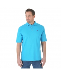 Wrangler® Men's George Strait Performance Polo Shirt