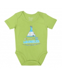 All Around Baby by Wrangler® Short Sleeve Onesie