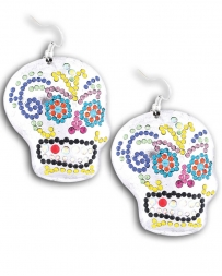 Gypsy Soule® Ladies' Sugar Skull Earrings