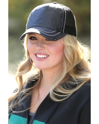 Cruel® Ladies' Faux Leather Trucker Cap