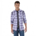 Rock 47 by Wrangler® Men's Long Sleeve Plaid Shirt